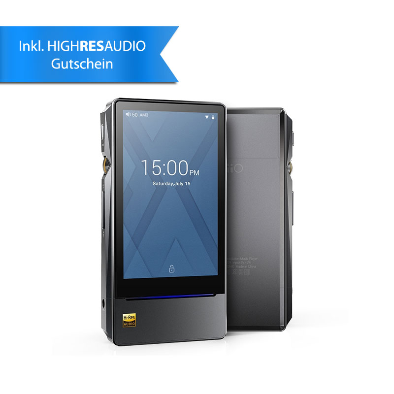 FiiO X7 MK II, mobiler HighRes Player, Android, 64GB, ESS9028 PRO ...